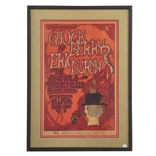 1967 Greg Irons Concert Poster