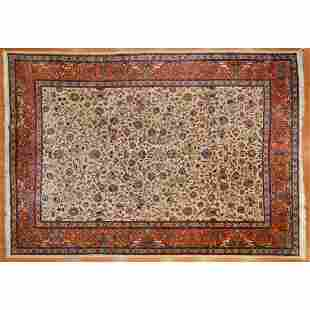 Tabriz Carpet, Persia 9.8 x 13.9