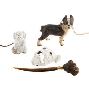 Four Assorted Dog Items