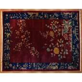 Antique Nichols Rug, China, 8.9 x 11.3