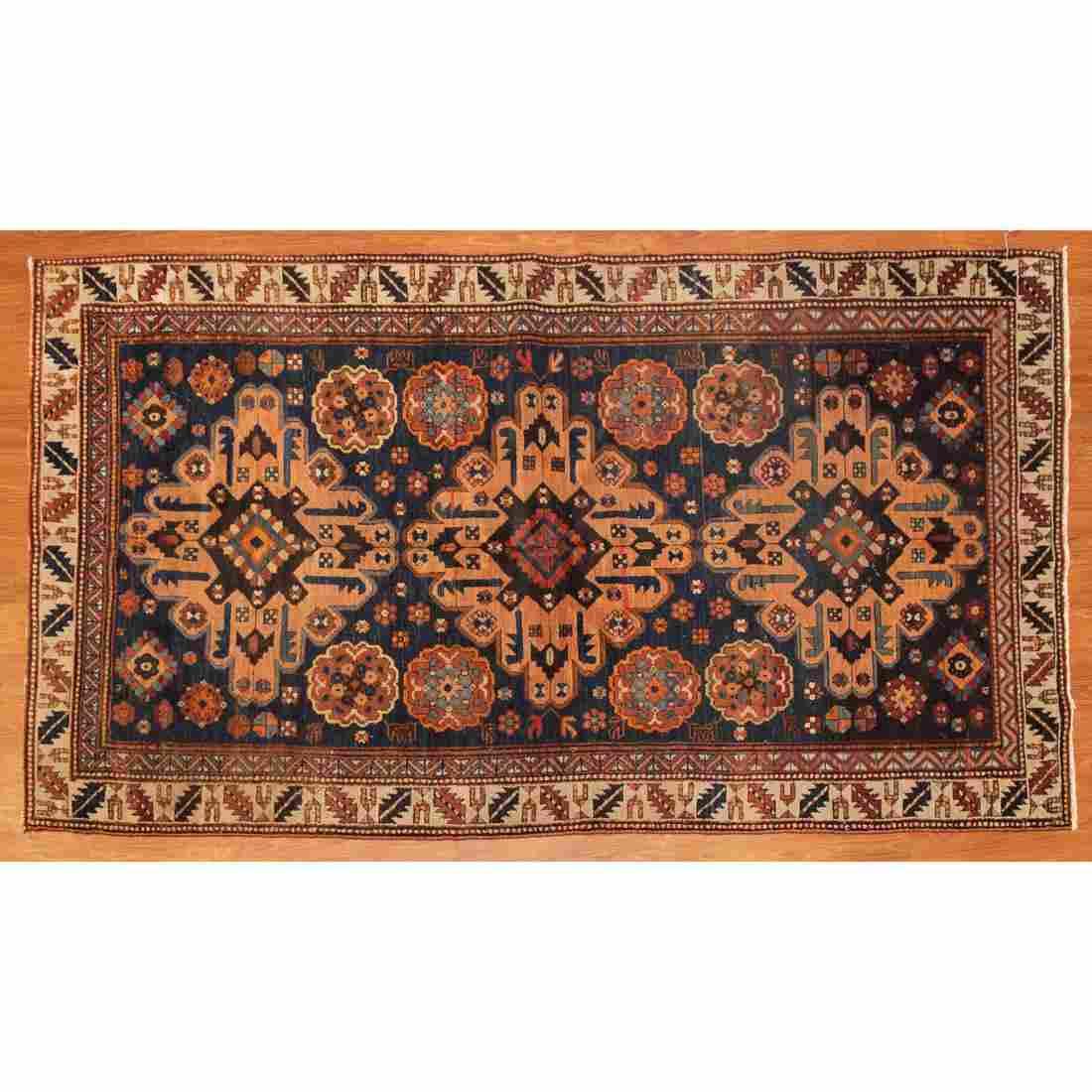Antique Malayer Rug, Persia, 3.10 x 6.10