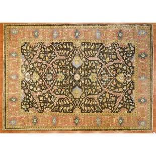 Indo Heriz Carpet, India,12 x 15