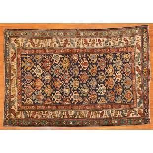 Antique Shirvan Rug, Caucasus, 3.6 x 5