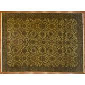 Indo Agra Carpet, India, 9.1 x 12.3