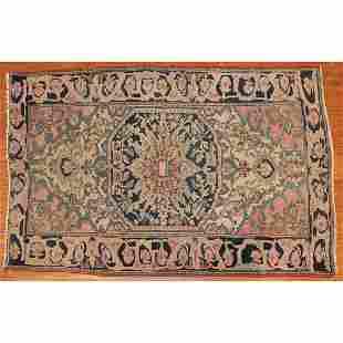 Antique Feraghan Sarouk Rug, Persia, 3 x 4.6