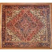 Heriz Rug, Persia, 7.7 x 8.7