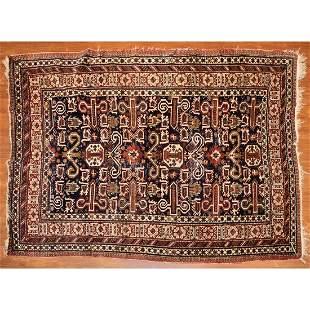 Semi-Antique Perpedil Rug, Caucasus, 4.7 x 6.2
