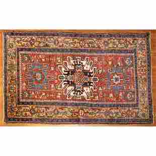 Antique Karaja Rug, Persia, 4.4 x 7.2