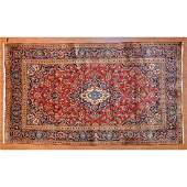 Kashan Rug, Persia, 6.3 x 10.7