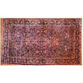 Semi-Antique Sarouk Carpet, Persia, 9 x 15.5