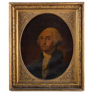 American School. Portrait of George Washington