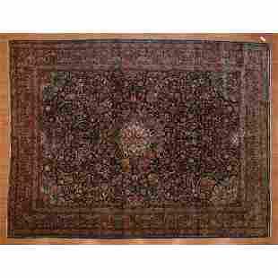 Semi-Antique Sarouk Rug, Persia, 8.11 x 11.8