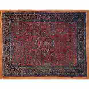 Semi-Antique Lilihan Rug, Persia, 8.9 x 11.4