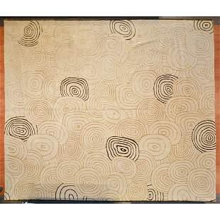 Tibetan Carpet, Nepal, 13 x 15