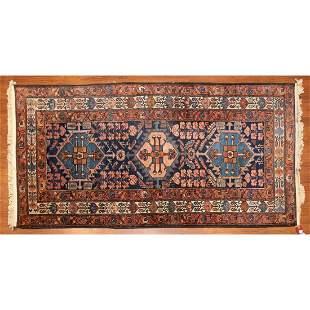 Hamadan Rug, Persia, 3.5 x 6.5