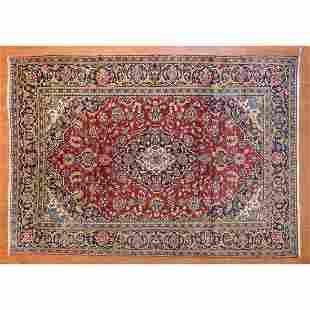 Kashan Rug, Persia, 7.10 x 11.3