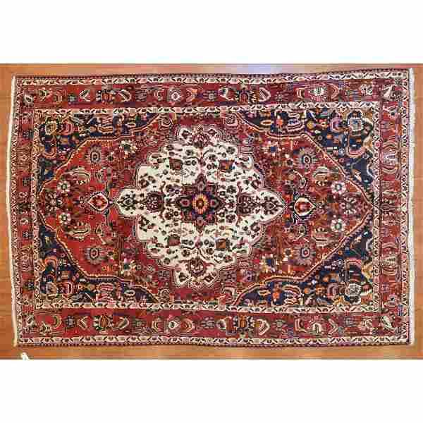 Bahktiari Rug, Persia, 7 x 10.3
