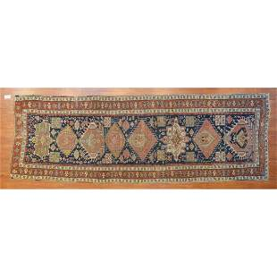 Antique Shirvan Runner, Persia, 3.10 x 11.1