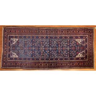 Semi-Antique Balouch Rug, Persia, 3.11 x 8.4