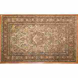 Antique Lavar Kerman Rug, Persia, 4.5 x 6.11