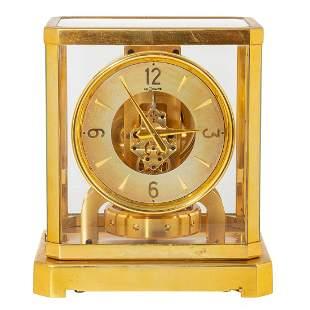 Le Coultre Gilt Brass Atmos Clock