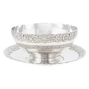 Tiffany & Co. Sterling Bowl & Undertray