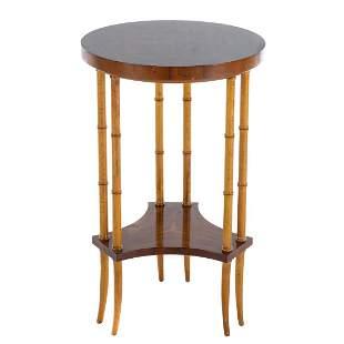 Baker Furniture Regency Style Elm Stand