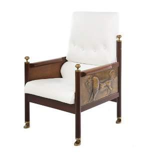 Ib Kofod- Larsen King Solomon Chair