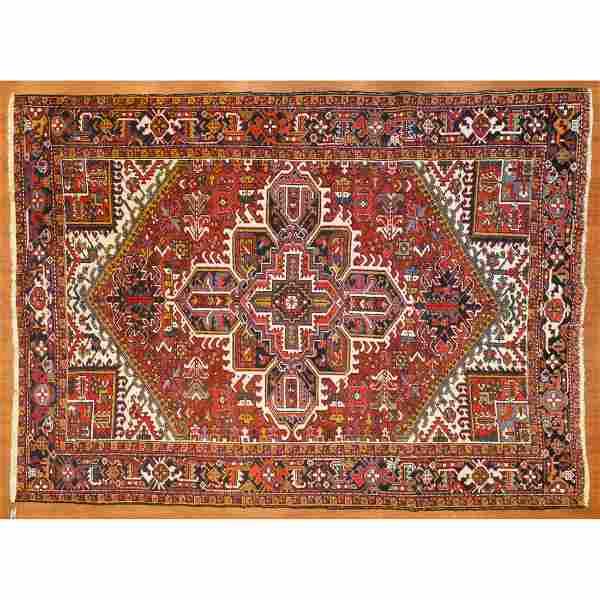 Heriz Rug, Persia, 7.10 x 10.5