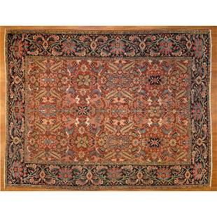 Antique Heriz Rug, Persia, 8.6 x 11.2