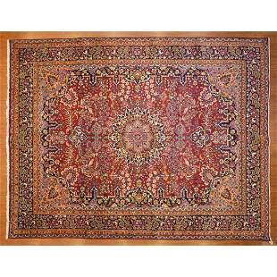 Mashad Carpet, Persia, 9.9 x 12.6