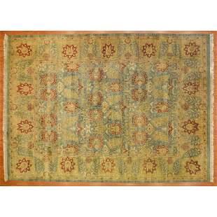 Indo-Sultanabad Carpet, India, 10 x 13.11