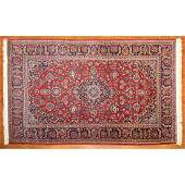 Semi-Antique Kashan Rug, Persia, 4.5 x 7