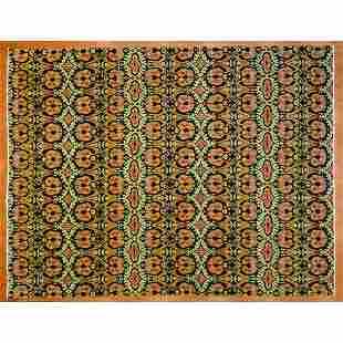 Tibetan Rug, Nepal, 9.1 x 11.9