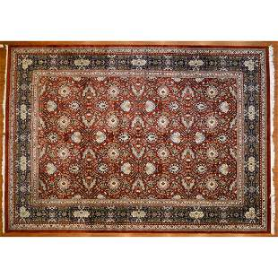 Indo Mahal Carpet, India, 10 x 14.1