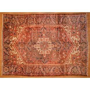 Heriz Rug, Persia, 8.3 x 11.3