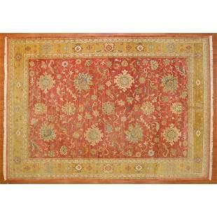 Indo Agra Carpet, India, 10 x 14.1