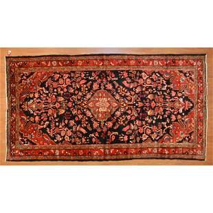 Hamadan Rug, Persia, 5.4 x 8.4