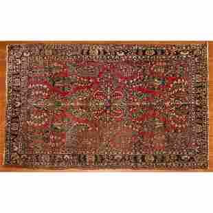 Semi-Antique Sarouk Rug, Persia, 4.2 x 6.4