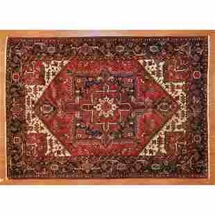 Heriz Rug, Persia, 6.9 x 9.7