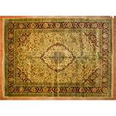 Golden Age Collection Carpet, India, 10 x 13.1
