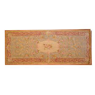 Savonnerie Gallery Rug, China, 6 x 15