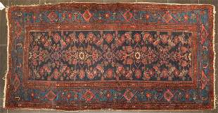 Antique Feraghan Sarouk Rug, Persia, 3.5 x 6.3