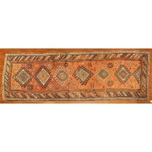 Antique Kazak Runner, Caucasus, 3.11 x 11.5