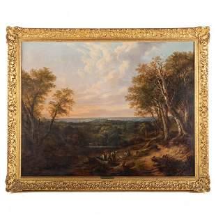 Attributed to John J. Wilson. Windsor Castle, oil