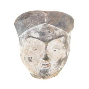 Chinese Terracotta Head