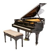 Steinway & Sons Model L Baby Grand Piano