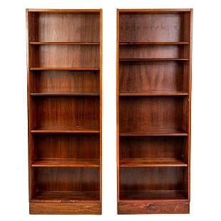A Pair of Danish Modern Poul Hundevad Bookcases