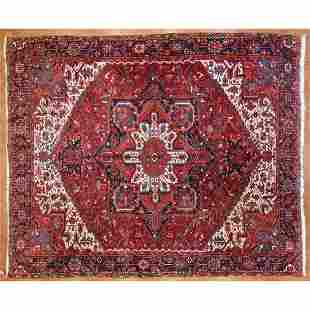 Heriz Carpet, Persia, 9.7 x 11.5