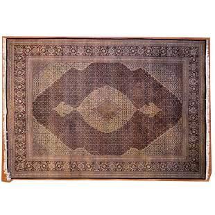 Fine Tabriz Mahi Rug, Persia, 8.1 x 11.7